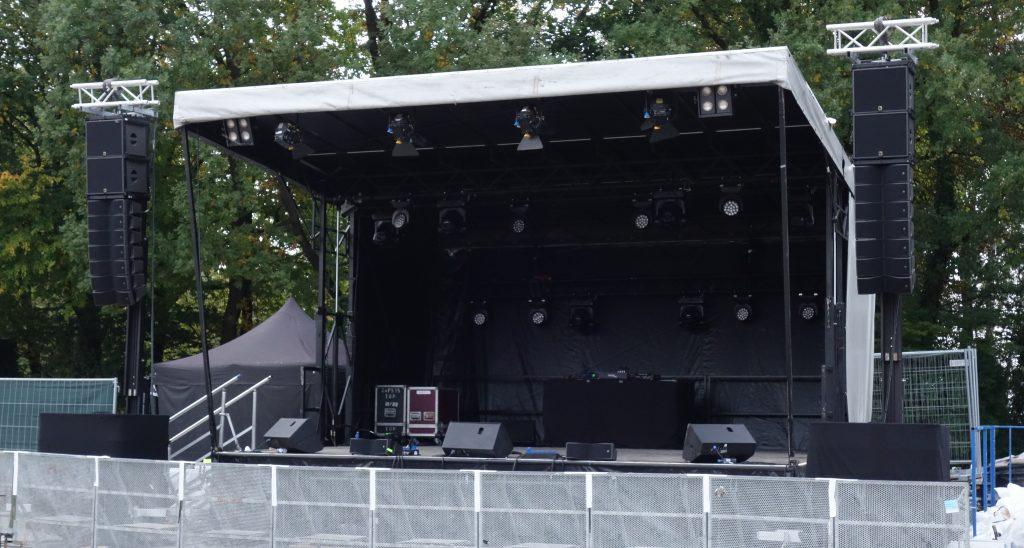 Bühne und Rigging
